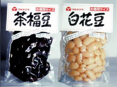 茶花豆・白花豆
