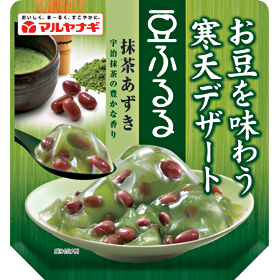 豆ふるる 抹茶あずき