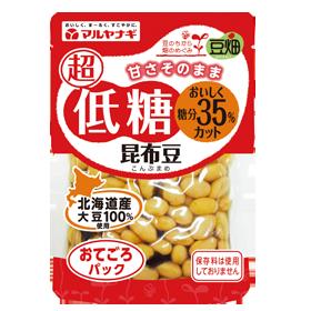 豆畑 おてごろパック 超低糖昆布豆