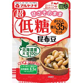 豆畑 超低糖昆布豆