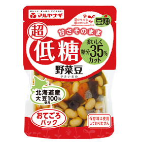 豆畑 おてごろパック 超低糖野菜豆