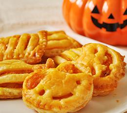 蒸し大豆とかぼちゃのパイ